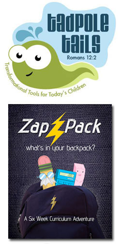 Tadpole Tails Zap Pack 6-week Curriculum Download
