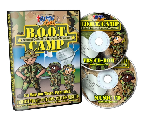 Product Information for TruthQuest - B.O.O.T. Camp VBS Kit
