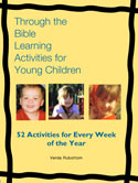Through the Bible Learning Activities for Young Children