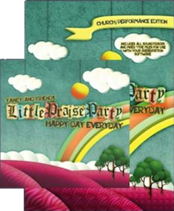 Yancy Little Praise Party - Happy Day Everyday DVD and CD Combo