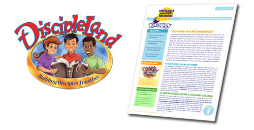 Kidology Spotlight Ministry Resource